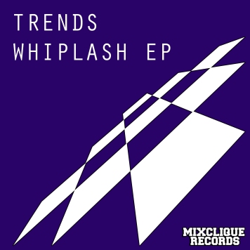 Trends EP - Whiplash EP Cover